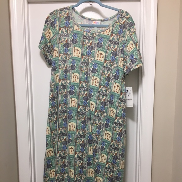 LuLaRoe Dresses & Skirts - Large Queen of Hearts Dress